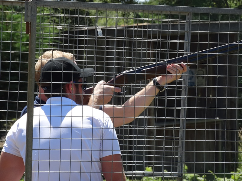 corporate clay pigeon shooting