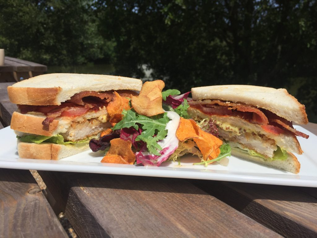 A Clubhouse Bloomer Sandwich.